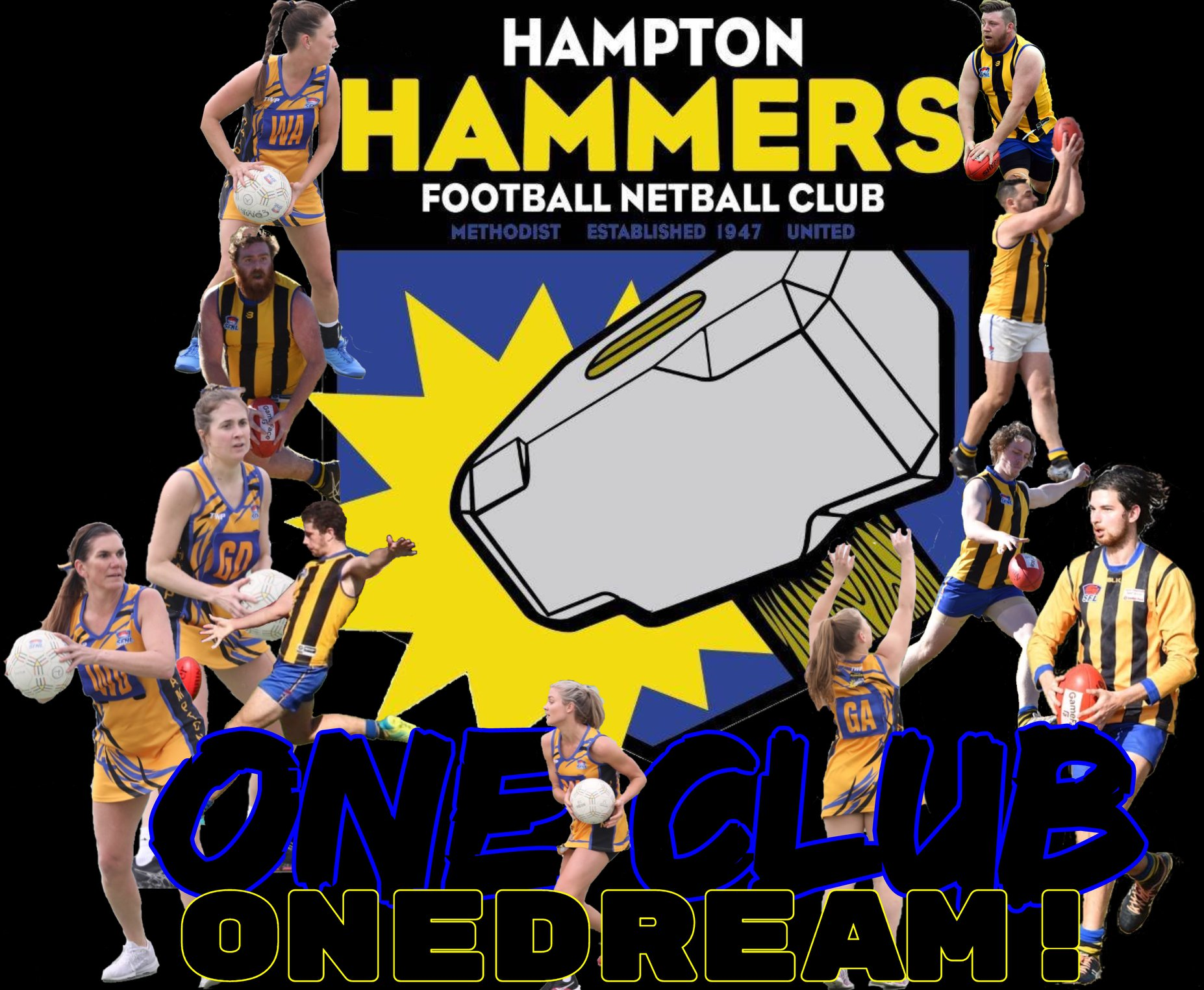 Hampton Hammers Football Netball Club Women's Coach 2020